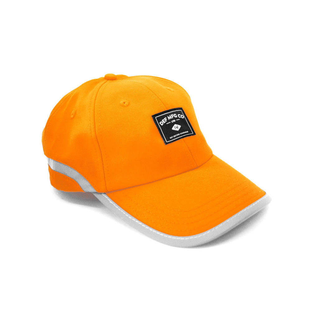 Def Hiace Patch Cap - Hi Viz Orange