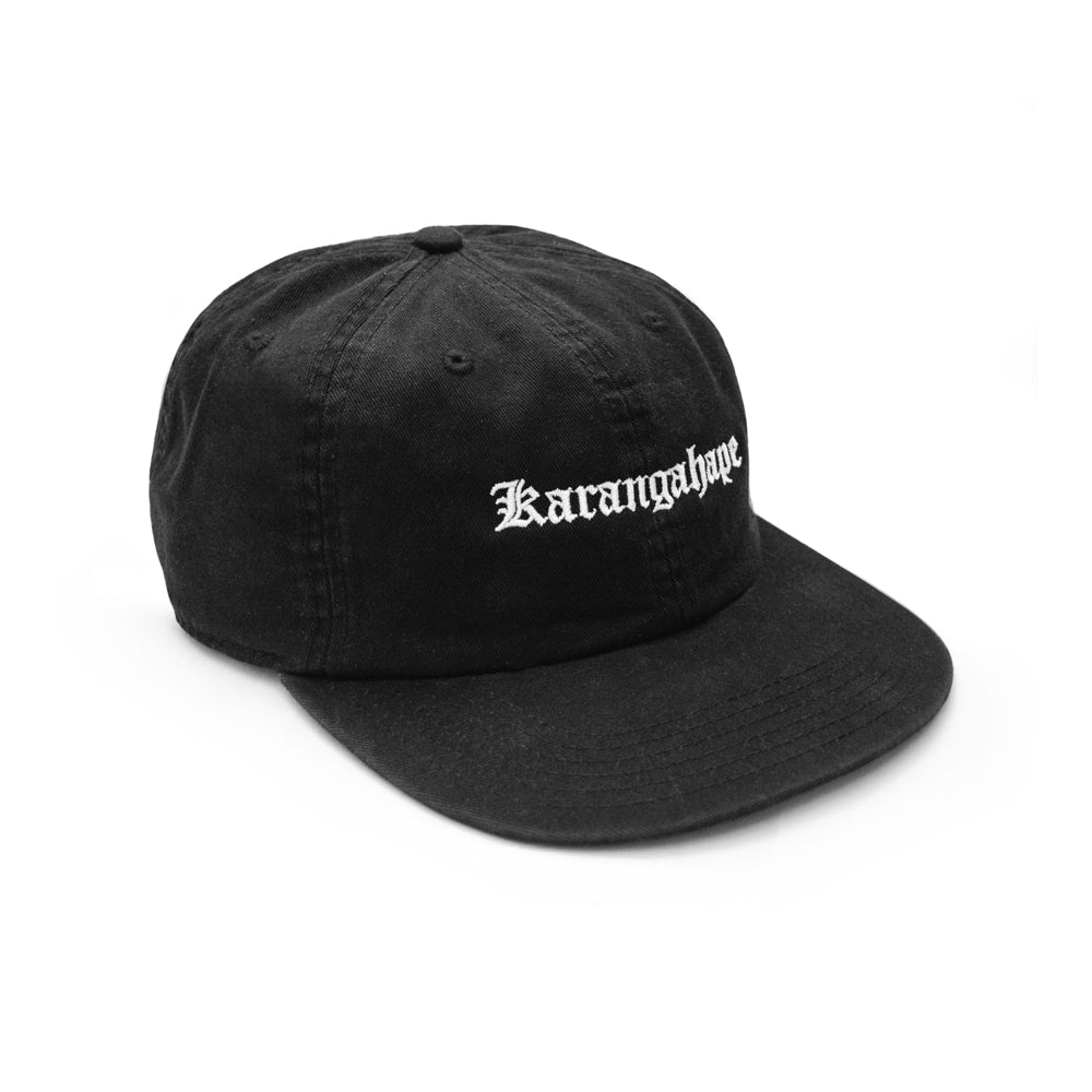K'ROAD Heritage Drill Cap - Black