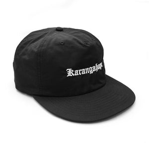 K'ROAD Heritage Nylon Cap - Black