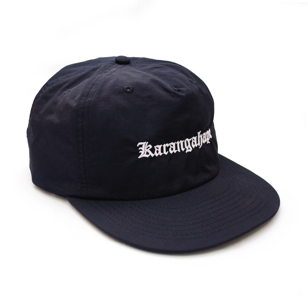 K'ROAD Heritage Nylon Cap - Navy
