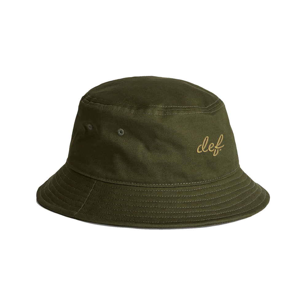 Def Link Up Bucket Hat - Army Green