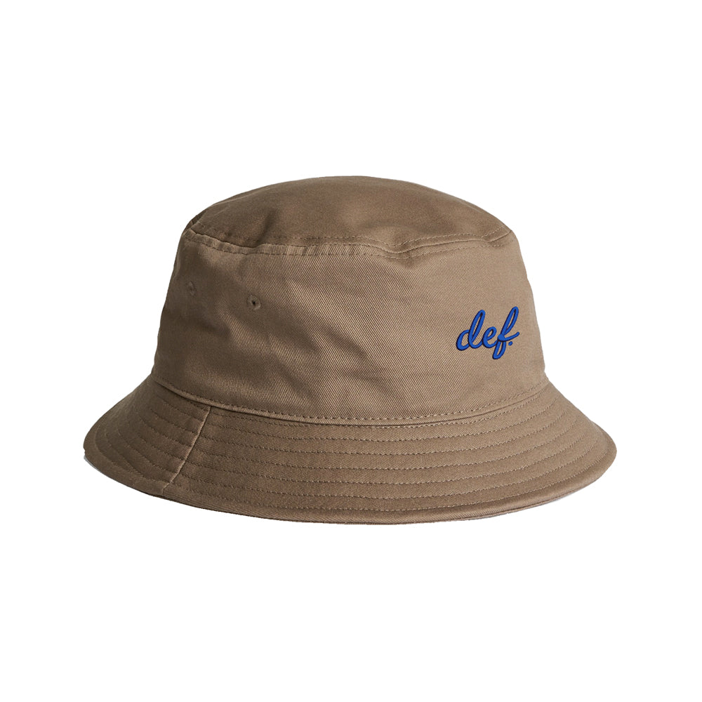 Def Link Up Bucket Hat - Khaki