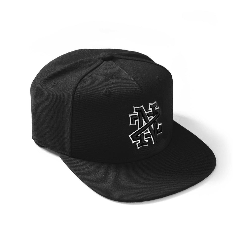 Def Lock Up Snapback Cap - Black
