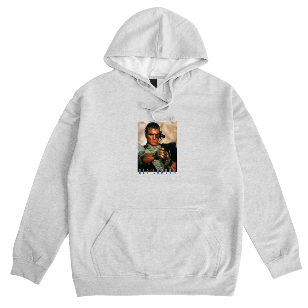 Def London Hood - Heather Grey
