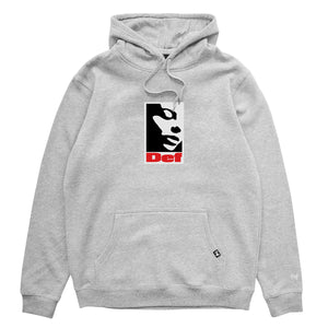 Def Lonely Hood - Heather Grey (Heavy-Weight)