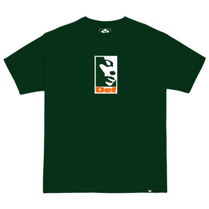 Def Lonely Tee - Forest Green