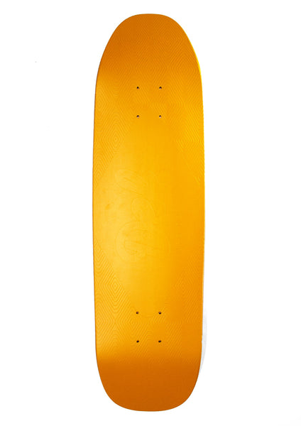 Def Matte Metallic Embossed Logo Cruiser Deck - Sunrise