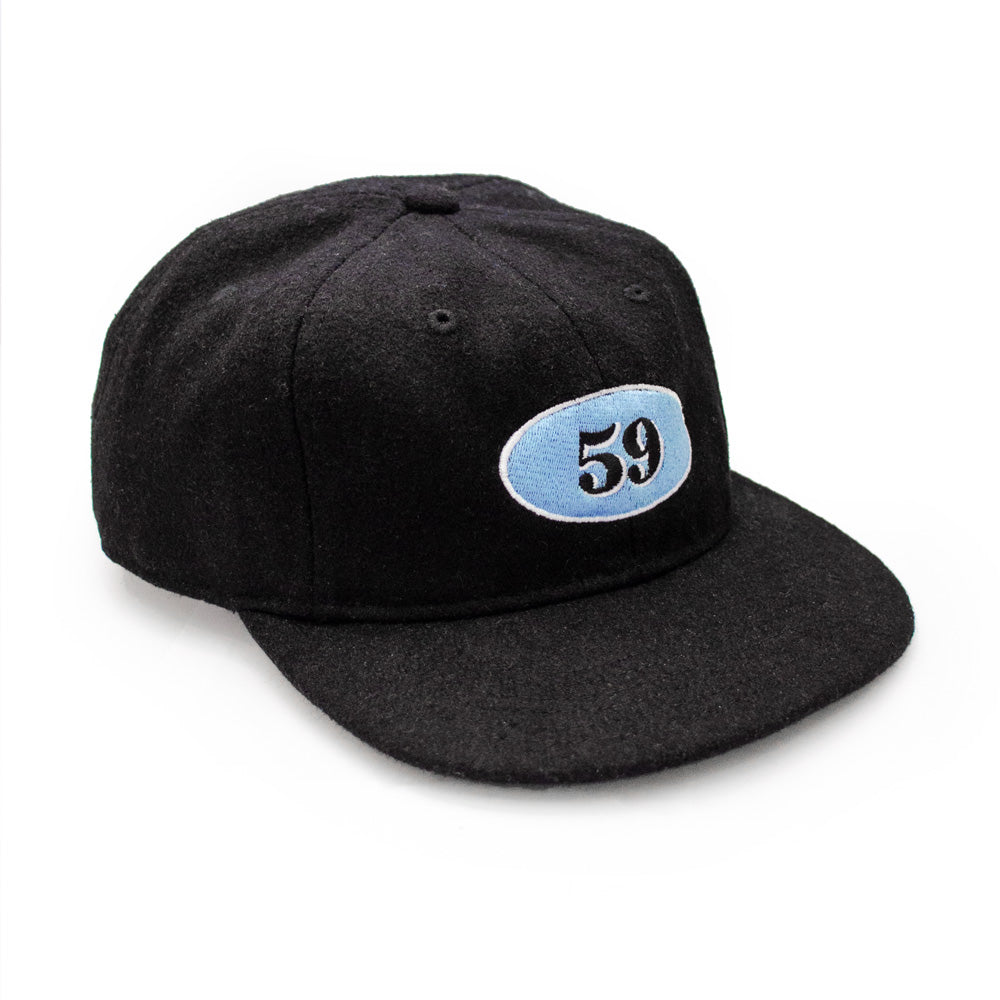 Def Mini Mart 59 Wool Cap - Black