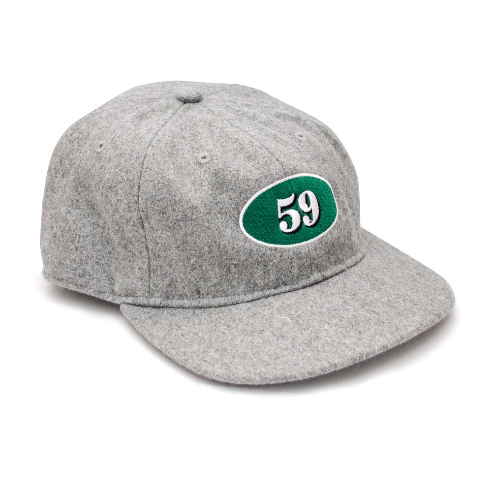 Def Mini Mart 59 Wool Cap - Grey