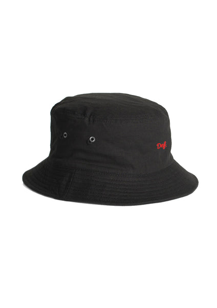 Def Mini Signature Bucket Hat - Black