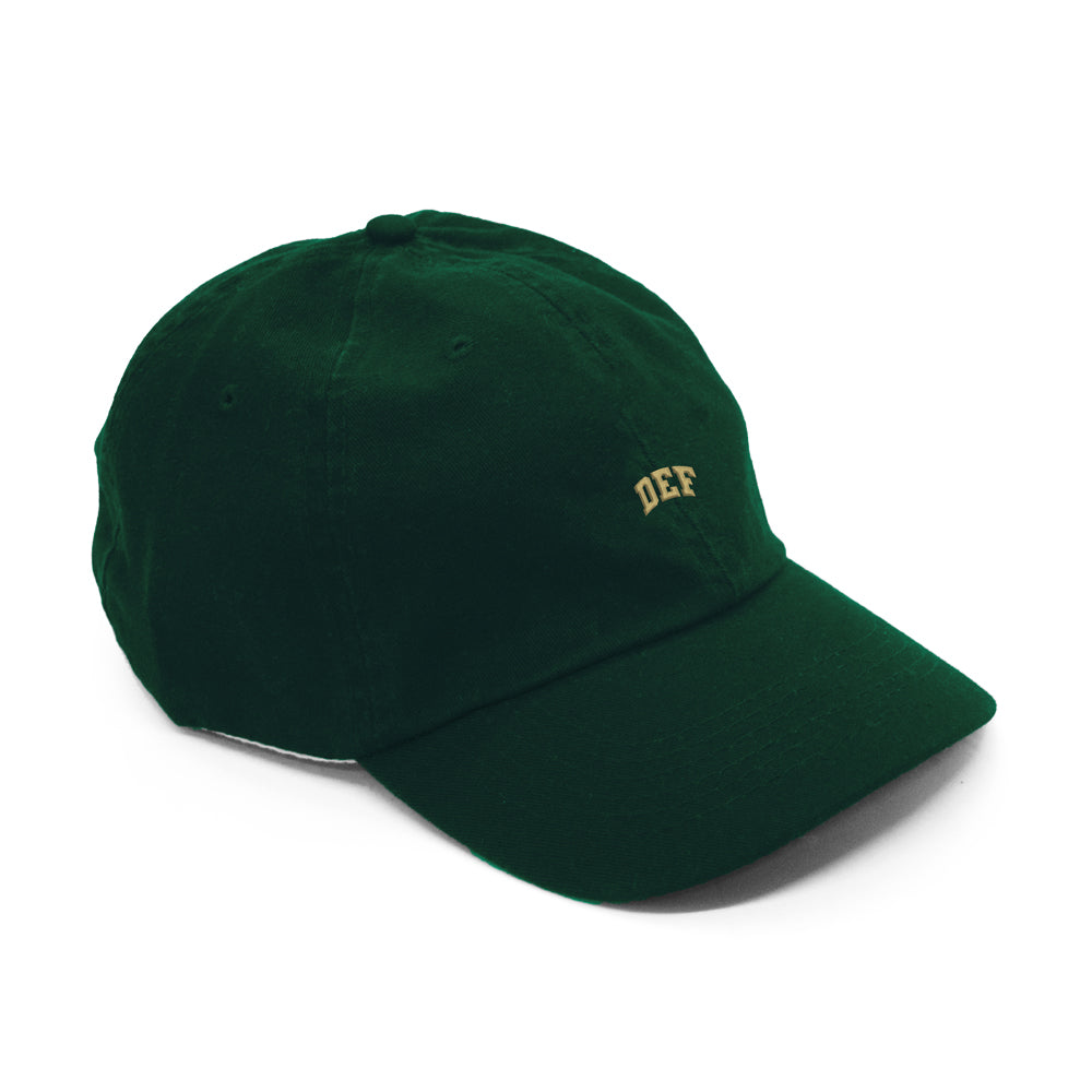 Def Mini Super Cap - Forest Green