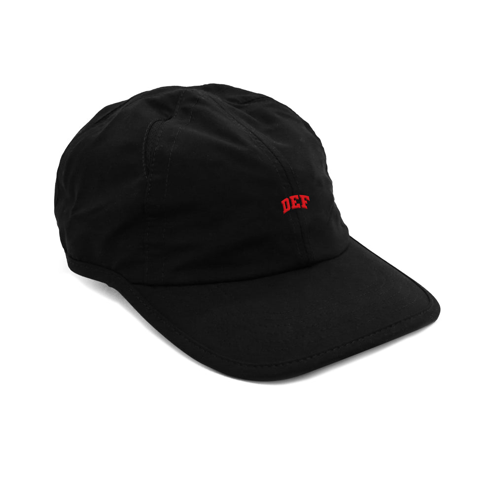 Def Mini Super Sports Cap - Black