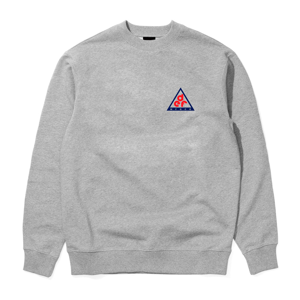 Def Mountaineering Crew - Heather Grey (Mid-Weight)