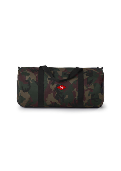 Def Patch Duffel Bag - Camo