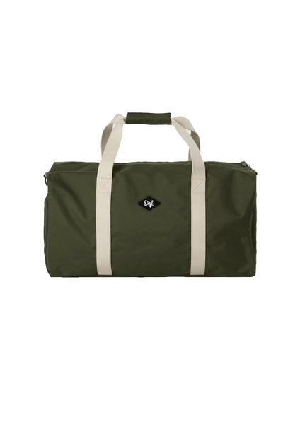 Def Patch Travel Bag - Army Green / Cream