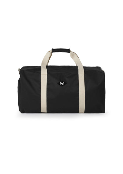 Def Patch Travel Bag - Black / Cream