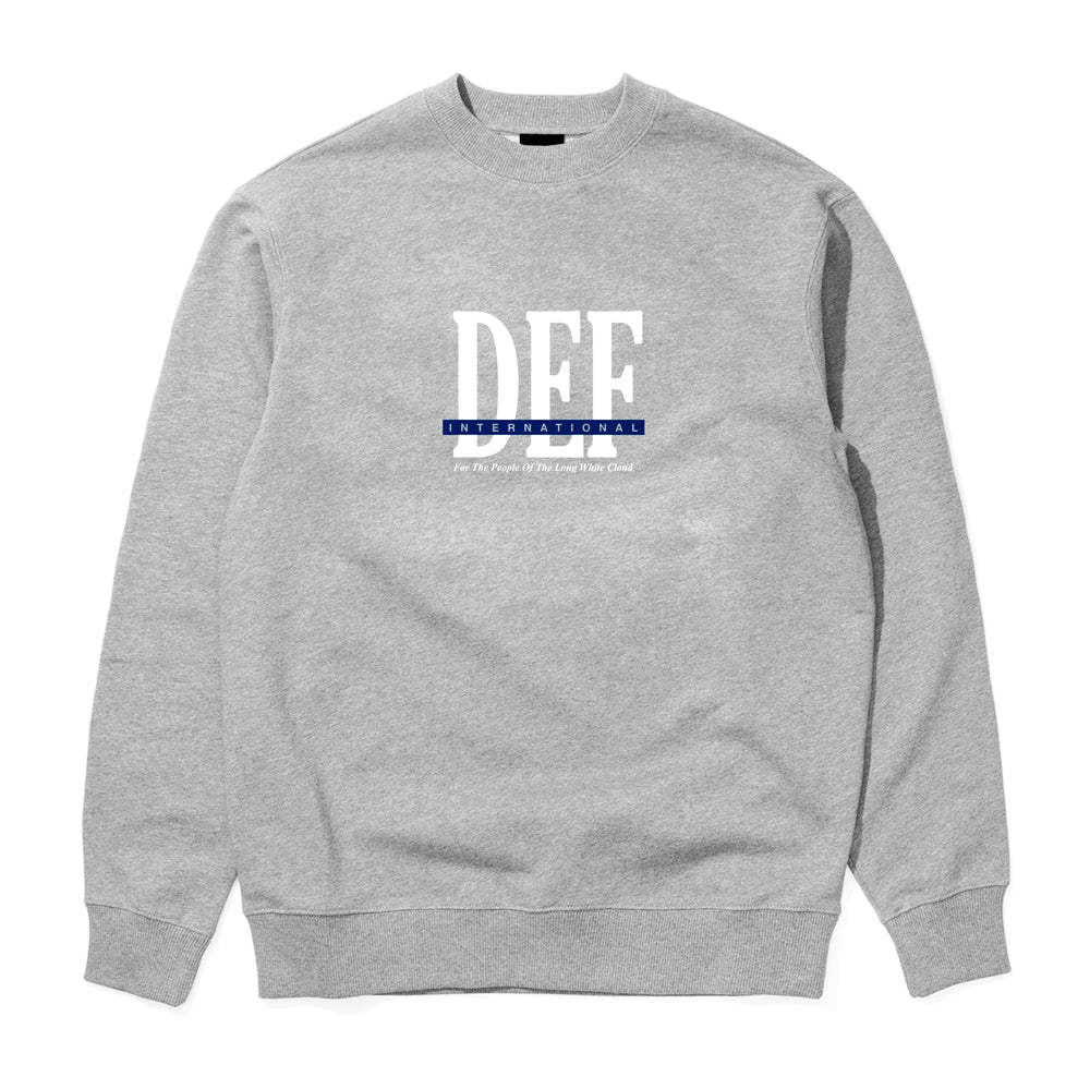 Def People Crew - Heather Grey (Mid-Weight)