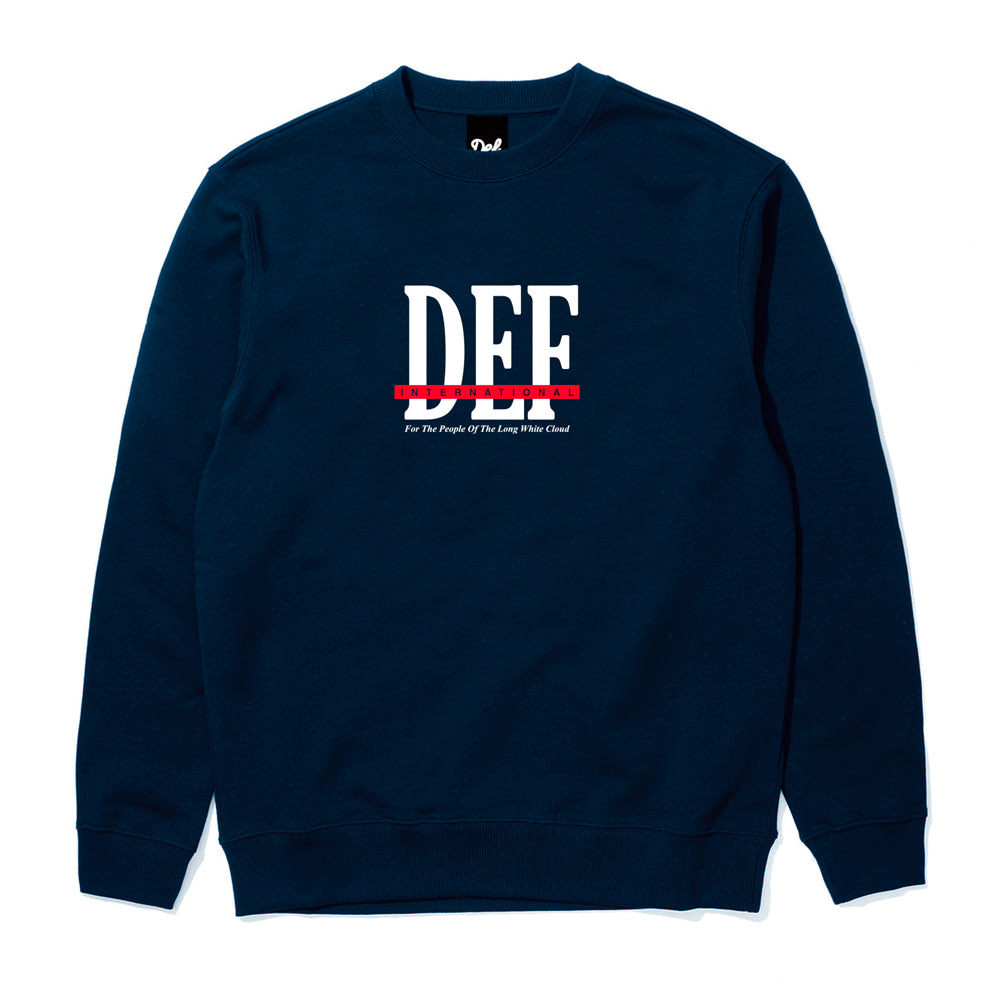 Def People Crew - Navy (Mid-Weight)