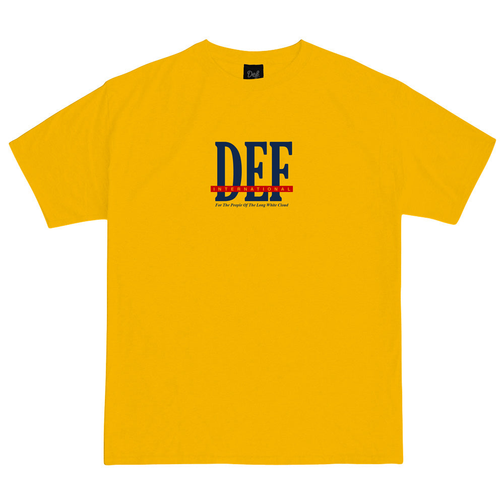 Def People Tee - Gold