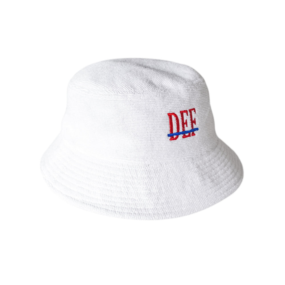 Def People Towel Bucket - White