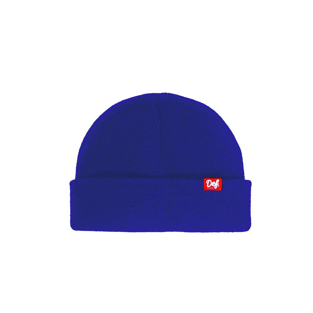 Def Pip Fisherman Beanie - Royal Blue