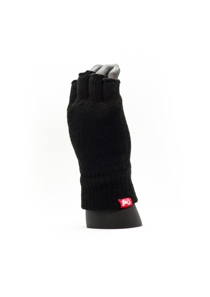 Def Pip Fingerless Gloves - Black