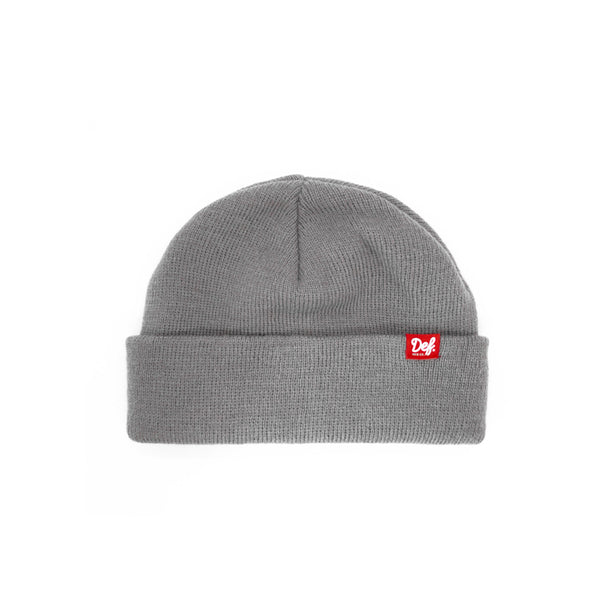 Def Pip Fisherman Beanie - Grey