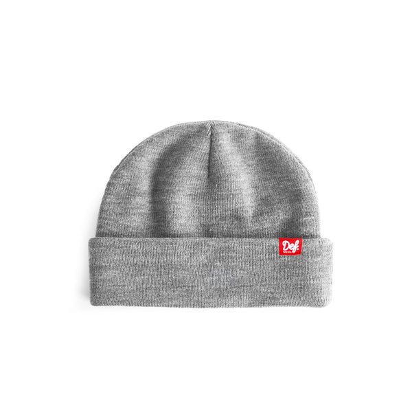Def Pip Fisherman Beanie - Heather Grey