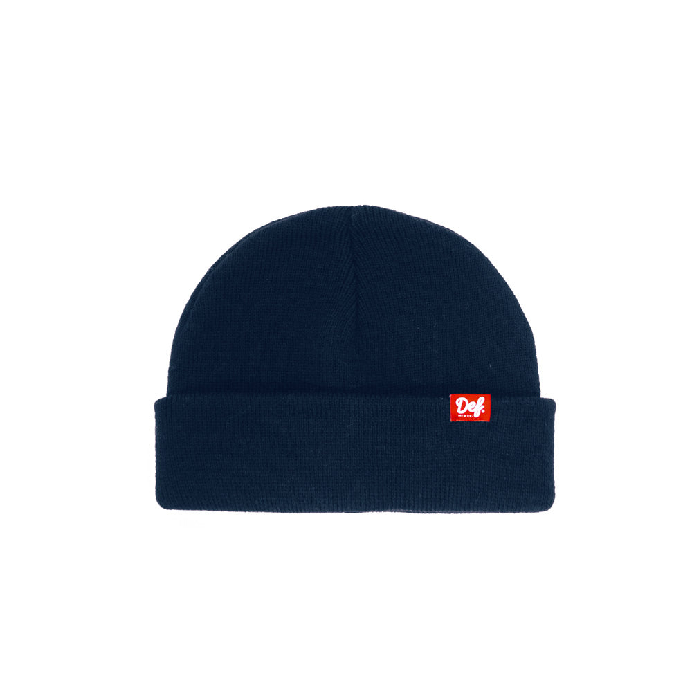 Def Pip Fisherman Beanie - Navy