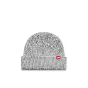 Def Pip Panini Ribbed Beanie - Heather Grey