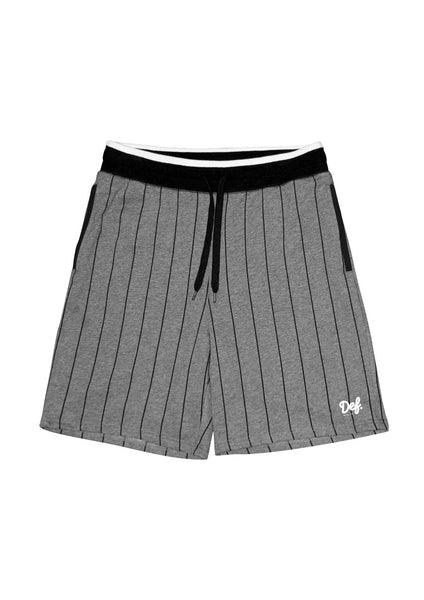 Def Pitcher Short - Charcoal-Marle/Black (B1)