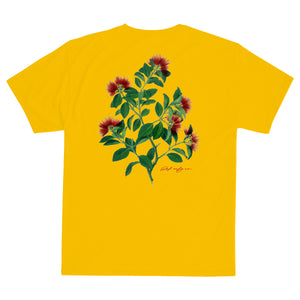 Load image into Gallery viewer, Def Pohutukawa Tee - Gold