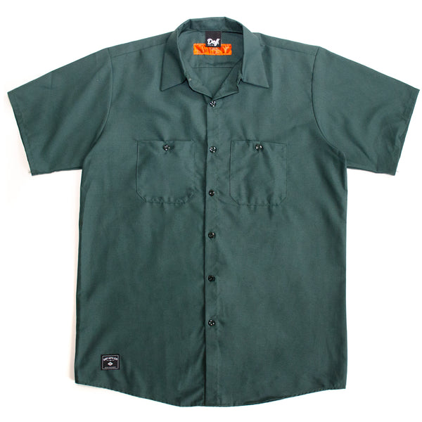 Def Red Kap Work Shirt - Teal Green