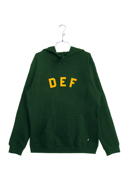 Def School Hi Hood - Forest Green (W4)