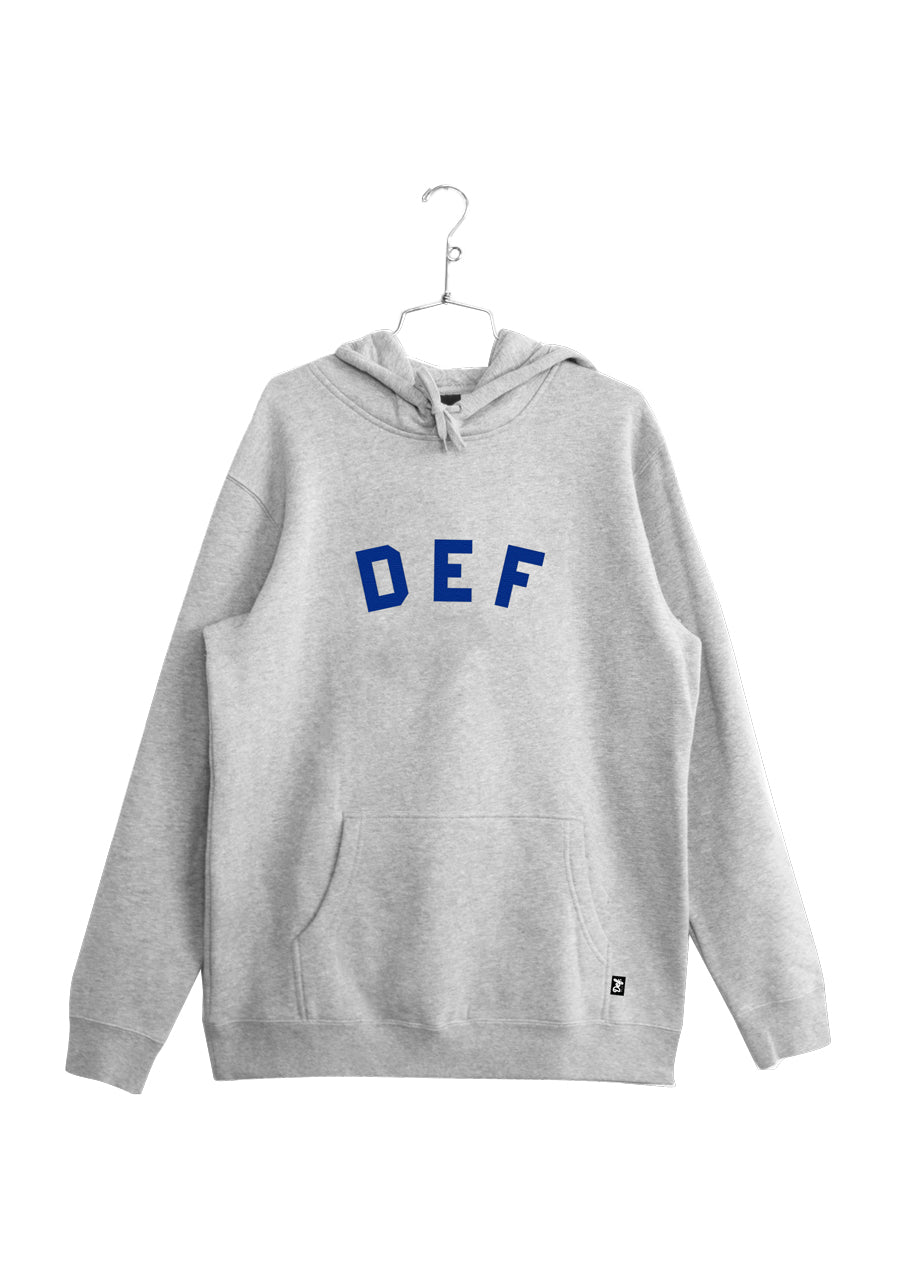 Def School Hi Hood - Heather Grey (W4)