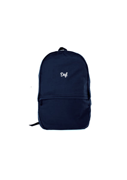 Def Signature Chino Backpack - Navy