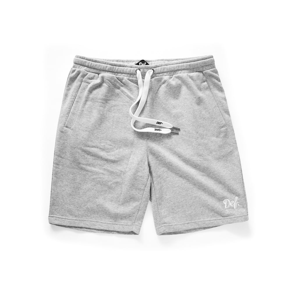 Def Signature Terry Short - Heather Grey