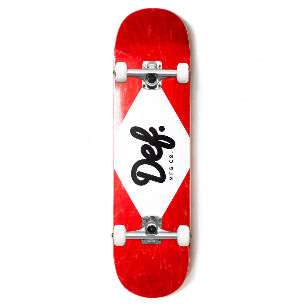 Def Ply Logo Red Complete - 8.0""