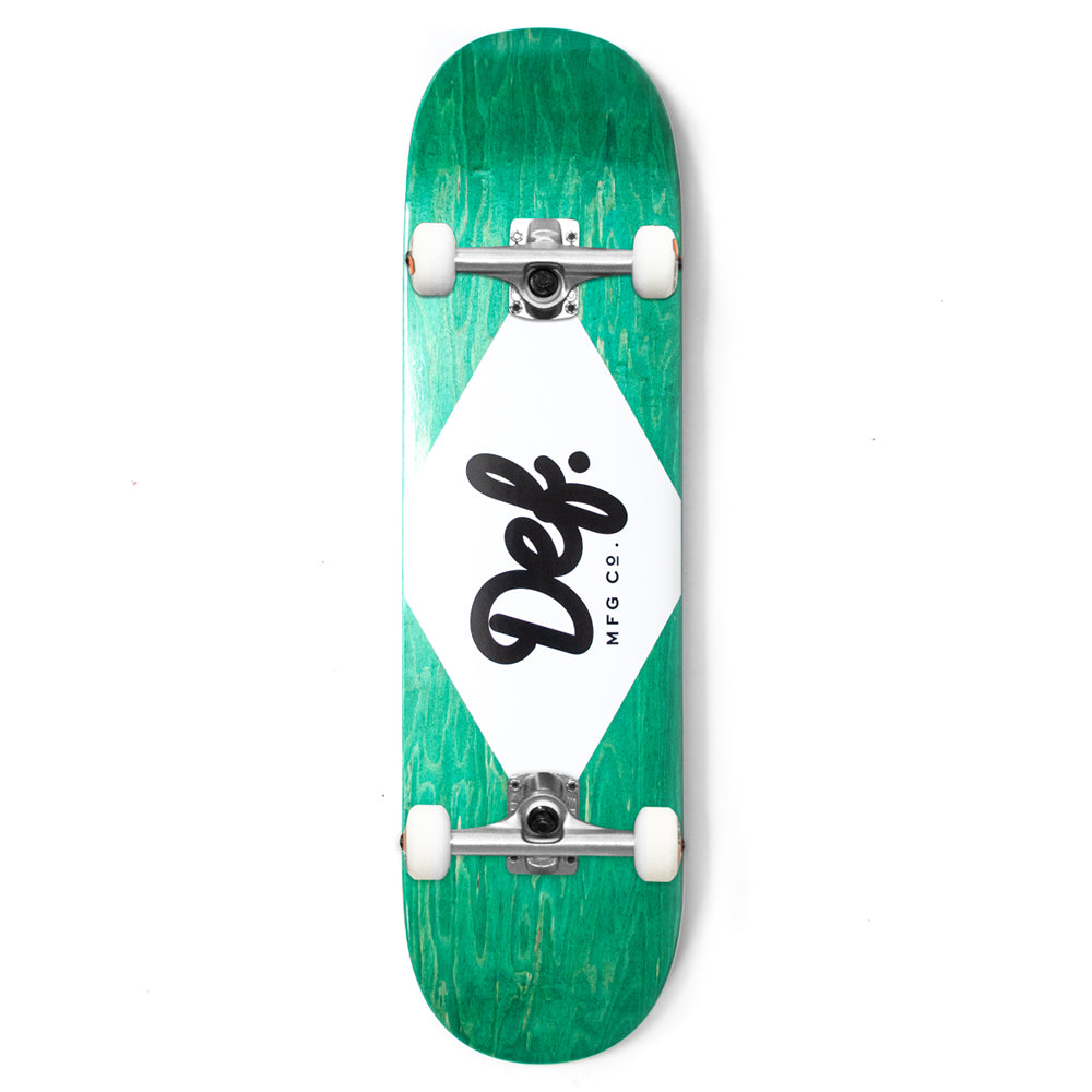 Def Ply Logo Teal Complete - 8.25""