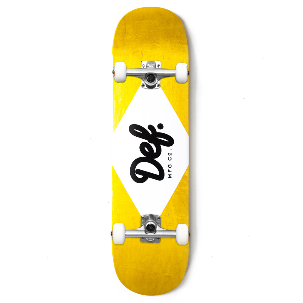 Def Ply Logo Yellow Complete - 8.1""