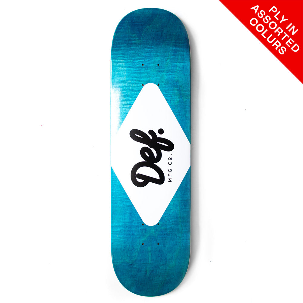 "Def Ply Logo (Randomly Assorted Colours) Deck - 7.75""/8.5"""