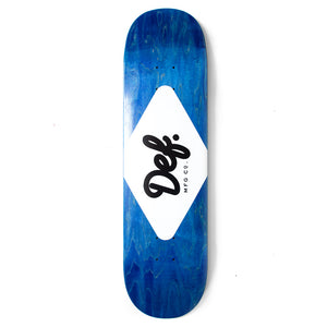 Def Ply Logo Royal Blue Deck - 8.38""