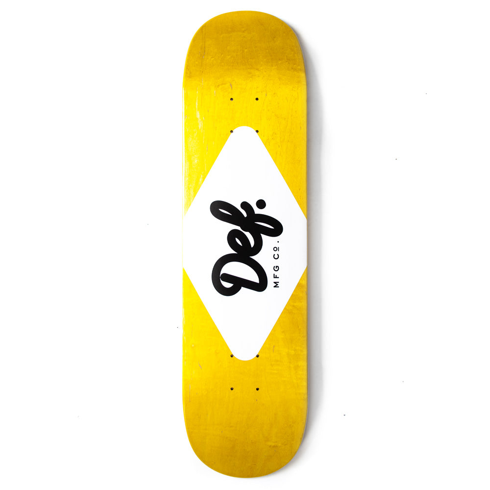 Def Ply Logo Yellow Deck - 8.1""