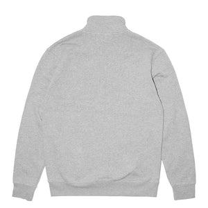 Load image into Gallery viewer, Def Signature Quarter Zip Sweater - Heather Grey