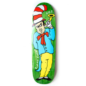 "Def x Smiddy Sly In A Hat Shaped Deck - 9.125"" (Shaped)"