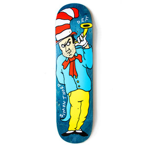 Def x Smiddy Sly In A Hat Deck - 8.1""