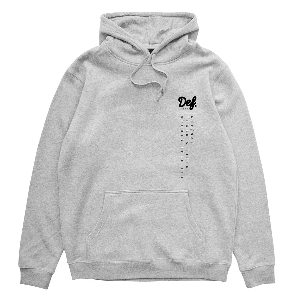 Def Sport Specific Hood - Heather Grey (Mid-Weight) (W2)