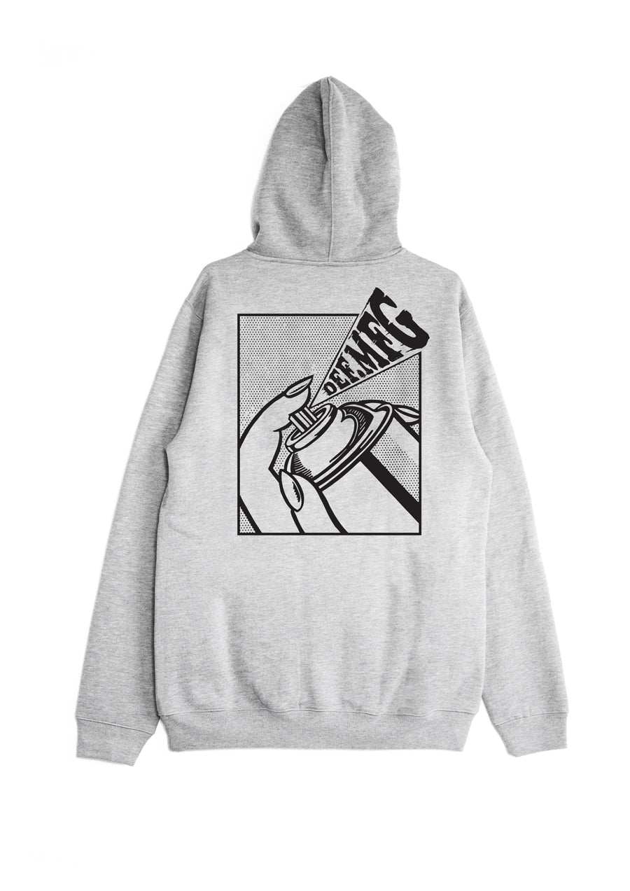 Def Spray Hood - Heather Grey (W3)