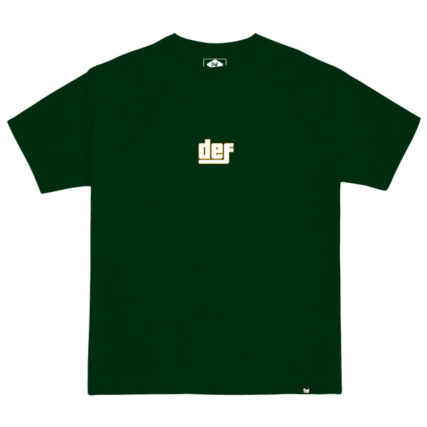 Def Stole It Tee - Forest Green