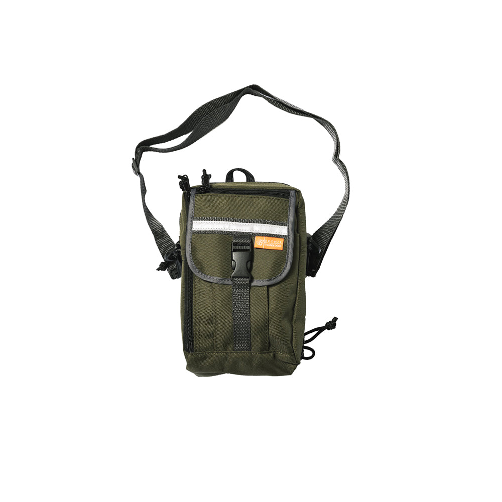 Bronze Phat Sack Bag - Olive